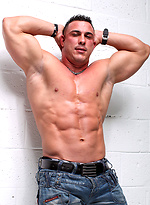 MMA fighter and bodybuilder Barry Bangor