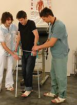 Yuri, Rado and Mirek - midical examination
