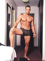 Hot indoor strip set of this Italian stud from Toronto Victor Lucca