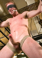 German stud gets beaten and edged.
