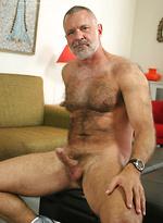 Hairy daddy Allen Silver