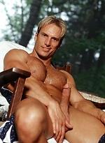 Blond athlete Rich naked