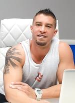 Cody Cummings in Private Office